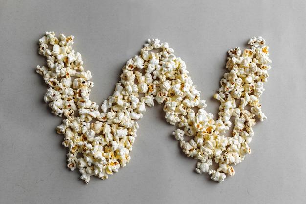 Popcorn alphabet, isoliert