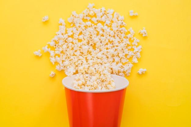 Popcorn eimer konzept