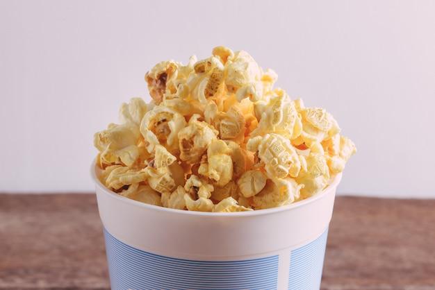 Popcorn im eimer