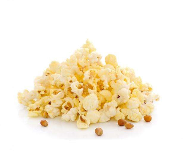 Popcorn isoliert