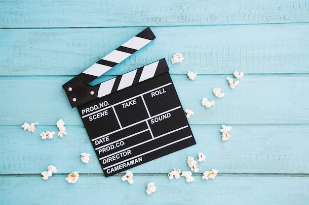 Popcorn um filmklappe