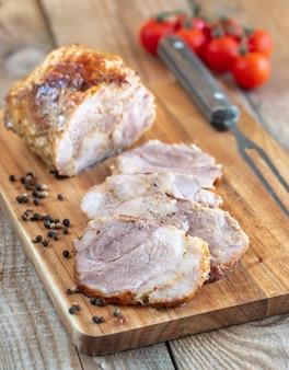 Porchetta - italienisches schweinebraten