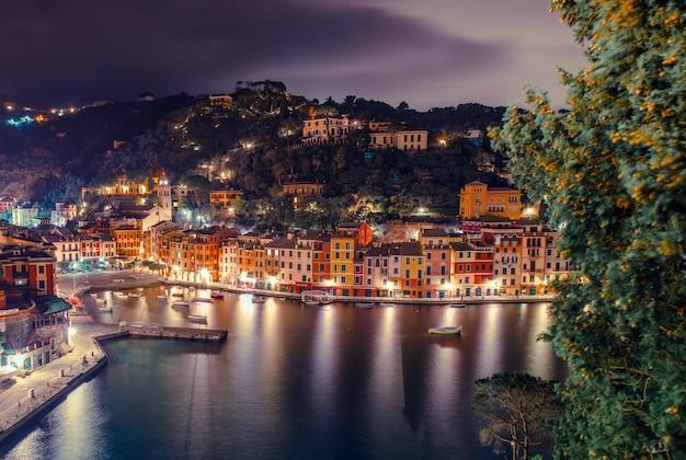 Portofino italienische riviera