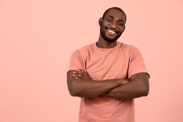Porträt des afroamerikanischen modells
