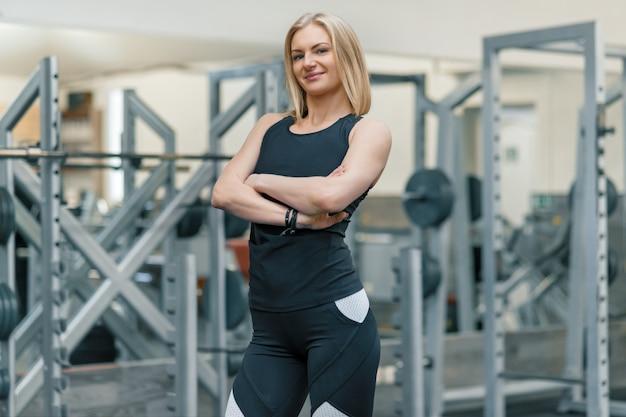 Porträt des erwachsenen persönlichen trainers