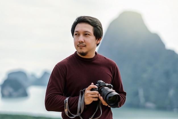 Porträt des fotografen