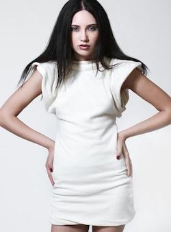 Porträt des model mit schönem make-up