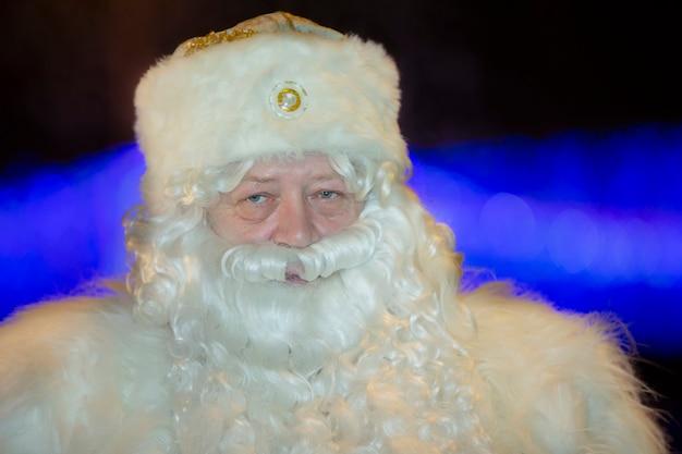 Porträt des russischen weihnachtsmannes.