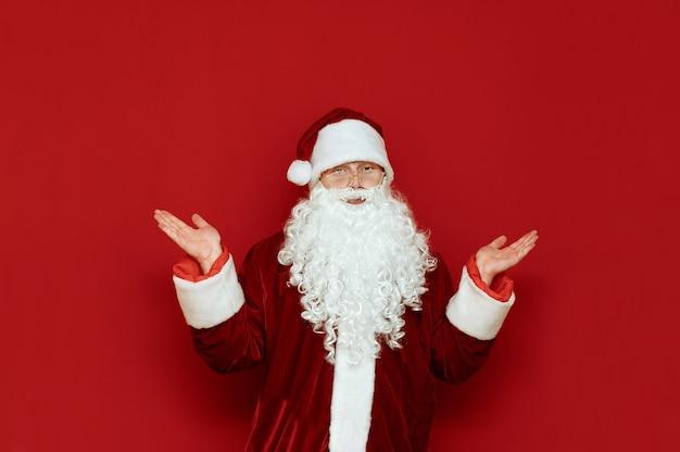Porträt des weihnachtsmannes