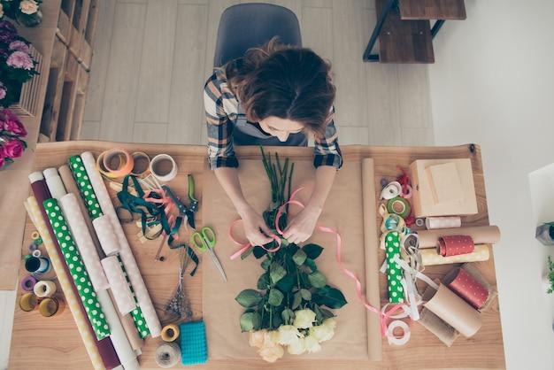 Porträt einer jungen unternehmerin