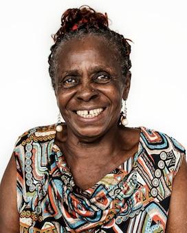 Porträt einer kongolesischen frau