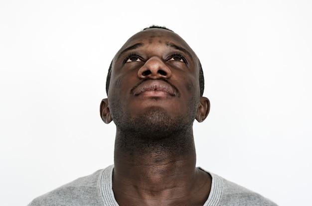 Porträt eines ghanaischen mannes