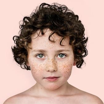 Porträt eines kindes