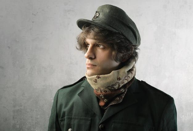 Porträt eines militärs