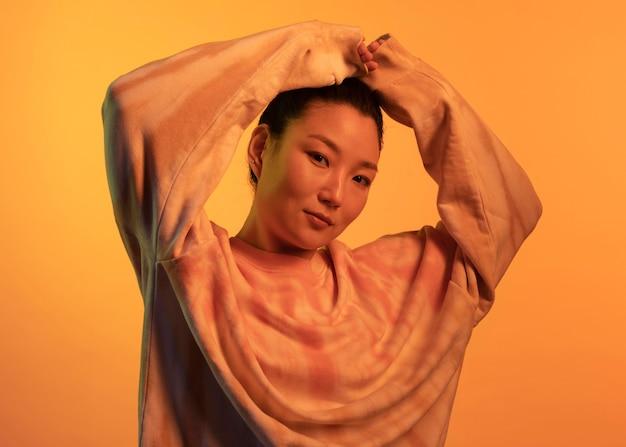 Porträt junge asiatische frau