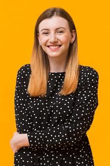 Porträt smiley weiblich
