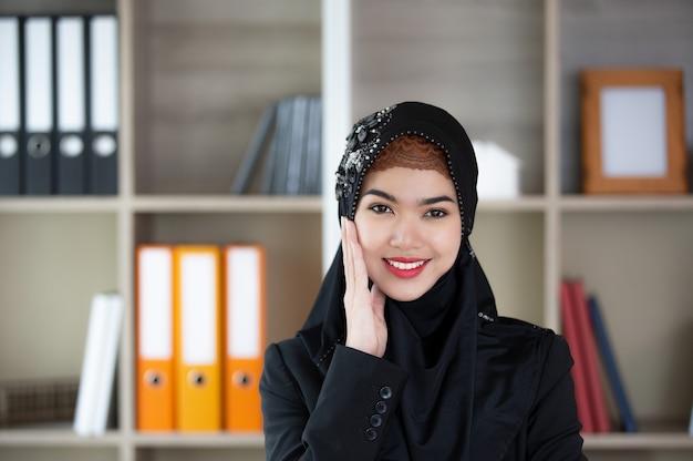 Porträt von muslimischen frauen