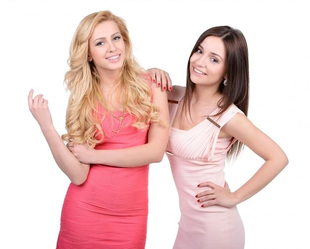 Porträt von zwei homosexuellen freundinnen
