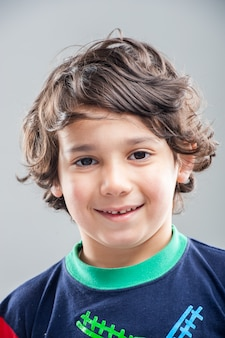 Portrait des vorbildlichen jungen