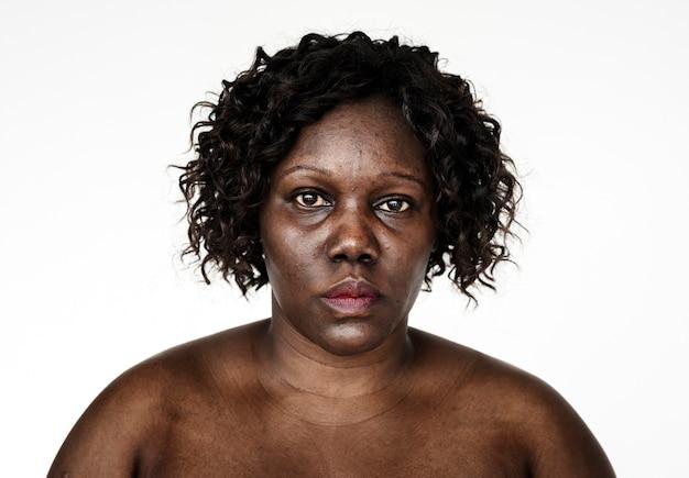 Portrait einer ugandischen frau