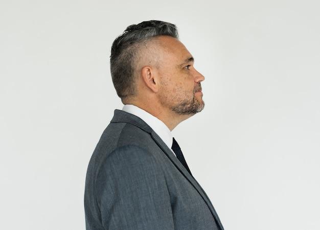 Portrait eines adretten schauenden mannes