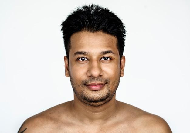 Portrait eines bangladeschischen mannes