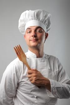 Portrait eines chefs