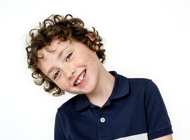 Portrait eines kindes