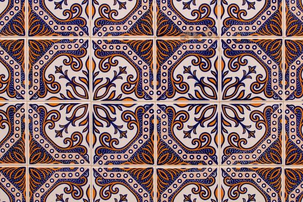 Portugiesische azulejo-textur
