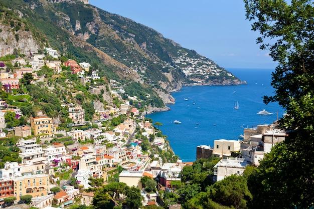 Positano amalfi küste italien