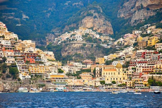 Positano, amalfiküste, kampanien, italien. schöne aussicht