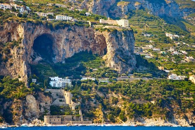 Positano, amalfiküste, kampanien, italien.