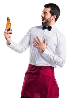 Positive krawatte mann menschen alkohol
