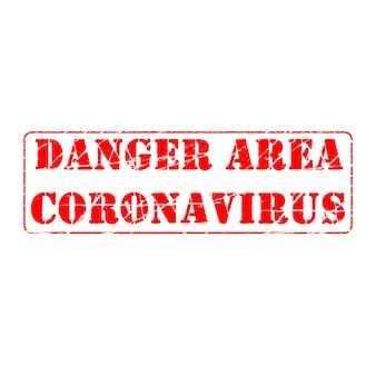 Positive werbung covid-19-krankheit durch coronavirus verursacht. virale pandemie weltweit. stempeleffekt