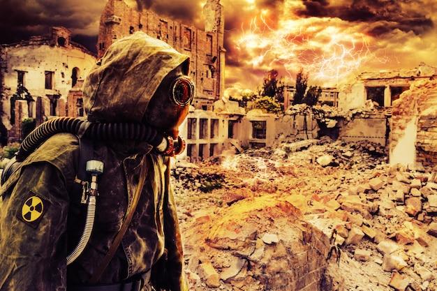 Post-apokalypse einziger überlebender