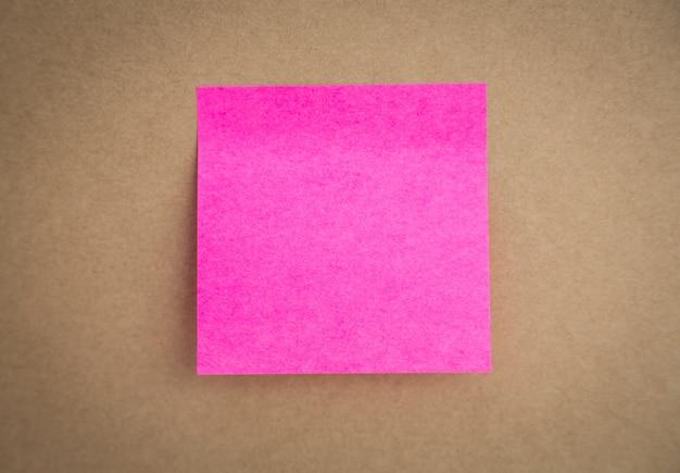 Post-it rosa