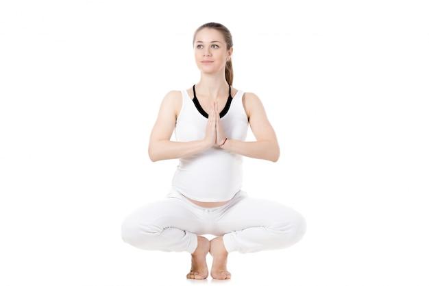 Pränatale yoga, mulabandhasana pose