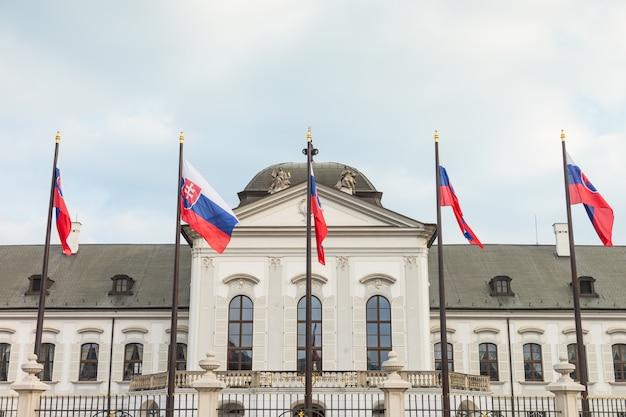 Präsidentenpalast in bratislava, slowakei