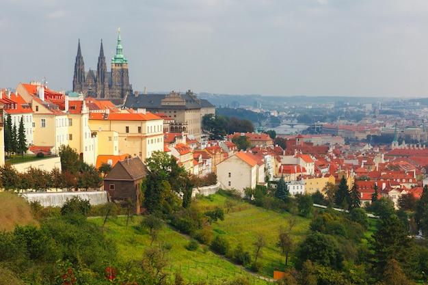 Prager burg und das kleine viertel, tschechische republik
