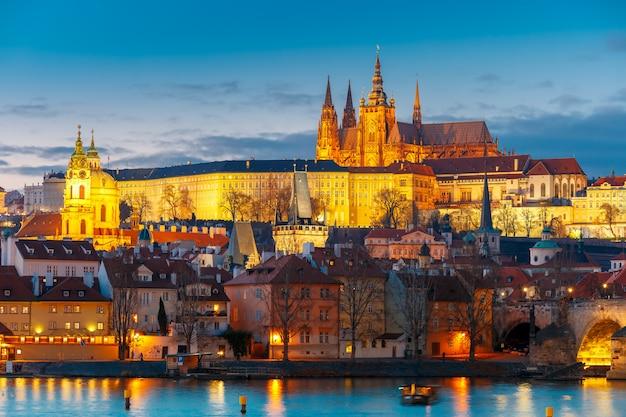 Prager burg und mala strana, tschechische republik