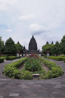 Prambanan tempel, hindu tempel in yogyakarta, indonesien