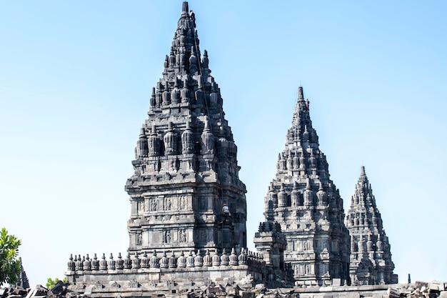 Prambanan tempel, yogyakarta auf java-insel, indonesien