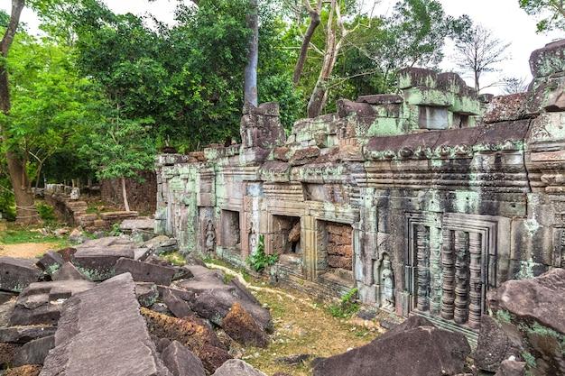 Preah khan tempel in angkor wat in siem reap, kambodscha