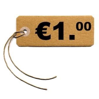 Preisschild-etikett