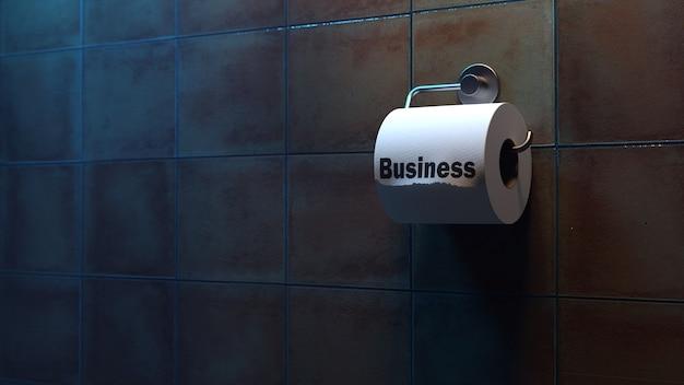 Primäre anzeichen für einen guten job oder ein gutes geschäft. illustration allegorie