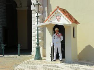 Prinz den palast von monaco bewacht eintrag