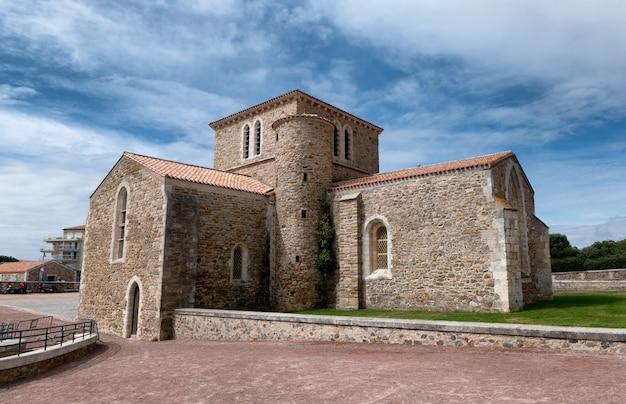 Priorat saint-nicolas in der chaume les sables d'olonne, frankreich