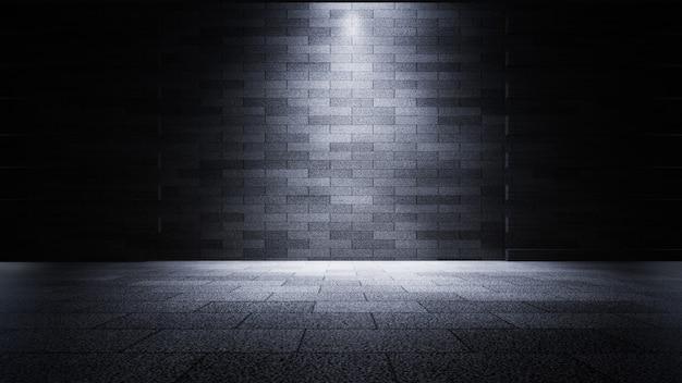 Product showcase spotlight hintergrund 3d-rendering
