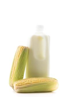 Produkt creme splash tropischen lebensmitteln