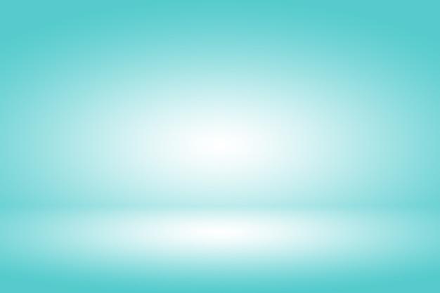 Produktdisplayhintergrund mit pastellgradient und blauem licht